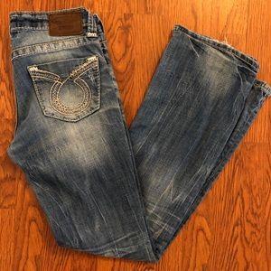 Big Star | Medium Wash Maddie Distressed Jeans